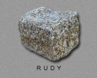 Kostka granitowa ruda